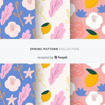 Collection de patrons de printemps