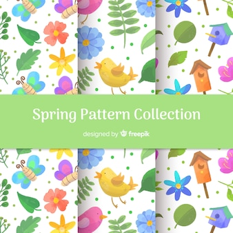 Collection de patrons de printemps