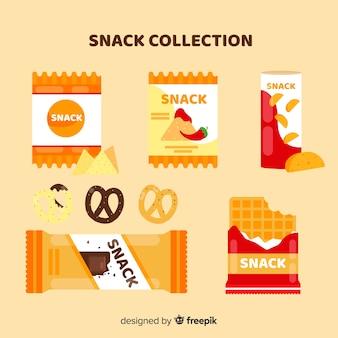 Collection plate de snacks