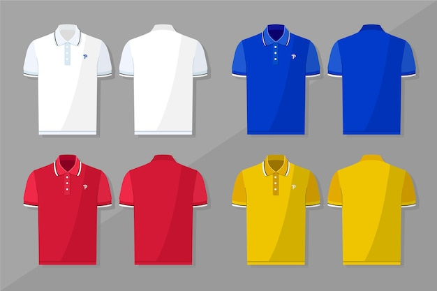 Collection de polos