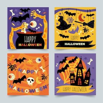 Collection de post instagram halloween