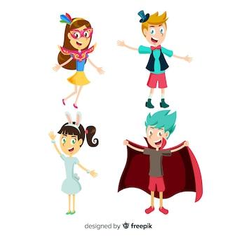 Collection pour enfants déguisée carnaval