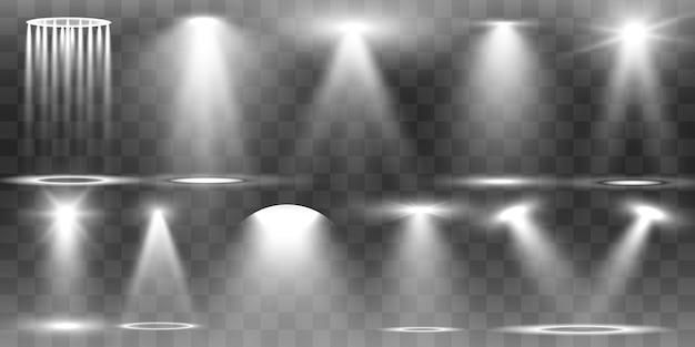 Collection de projecteurs pour l'éclairage de scène