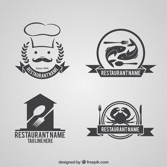 Collection de restauration logos