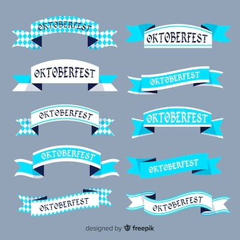 Collection de ruban plat oktoberfest