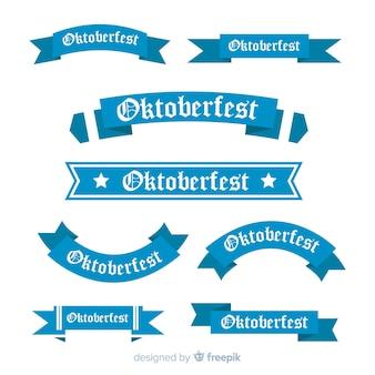 Collection de rubans bleus oktoberfest