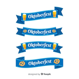 Collection de rubans oktoberfest