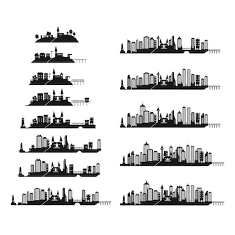 Collection skylines ville