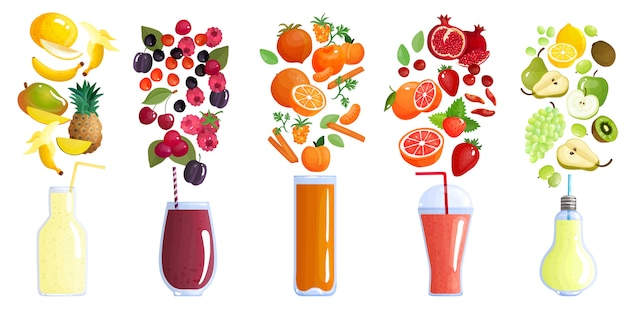 Collection de smoothies