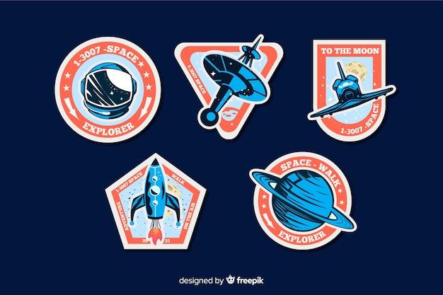Collection de stickers géométriques