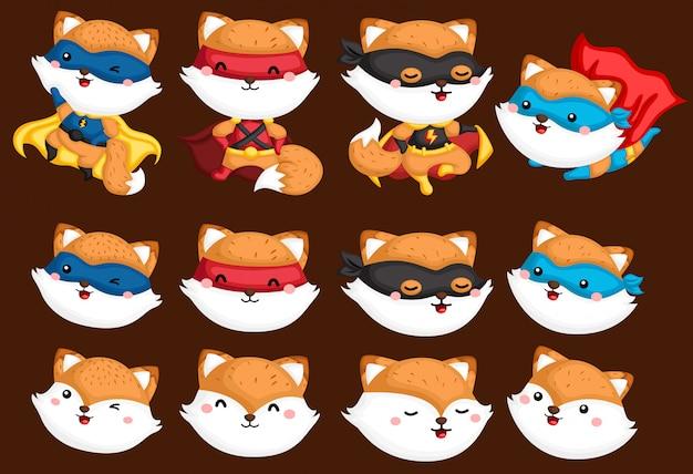 Collection de super-héros fox