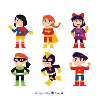 Collection de super-héros pour enfants