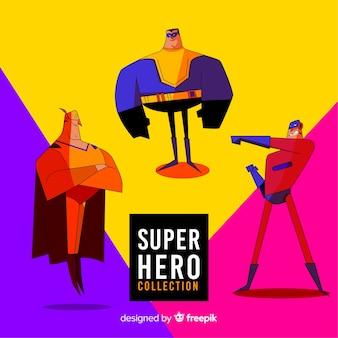 Collection de super héros