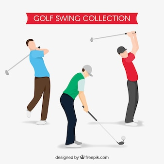 Collection de swing de golf