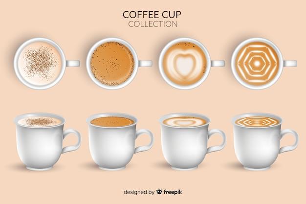 Collection de tasse de café
