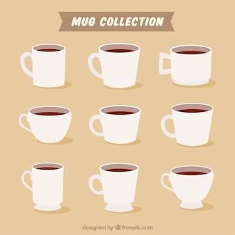 Collection de tasse plate