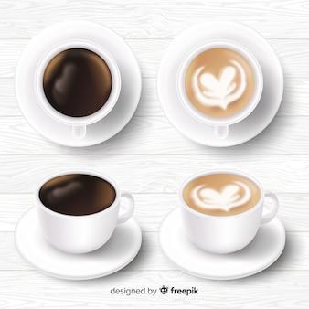 Collection de tasses à café