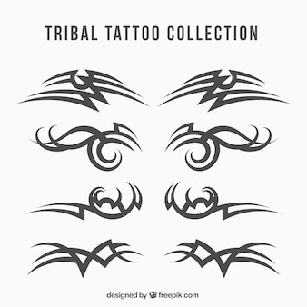 Collection de tatouage tribal