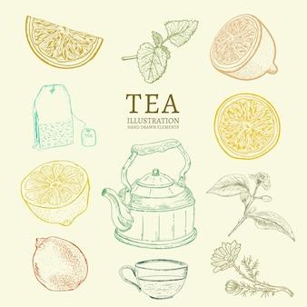 Collection de thé