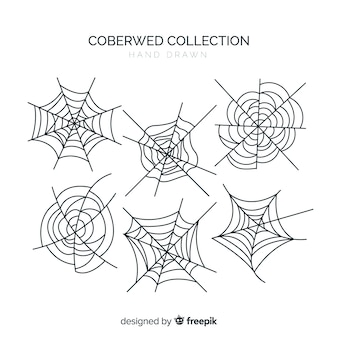 Collection de toile d'araignée d'halloween