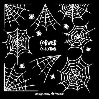 Collection de toile d'araignée halloween