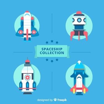 Collection de vaisseaux spatiaux