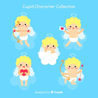 Collection valentine cupidon