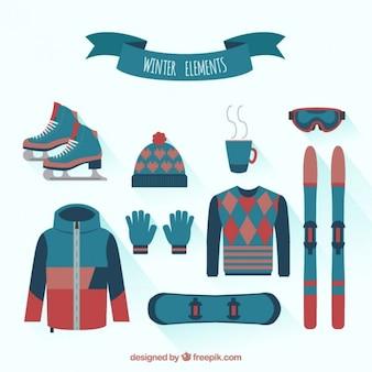 Collection de vêtements d'hiver