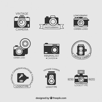 Collection vintage camera