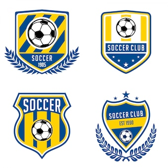 Collections de logo de football