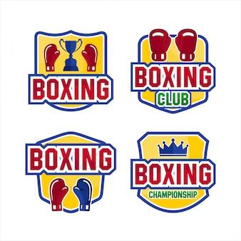 Collections de logos de championnat de club de boxe