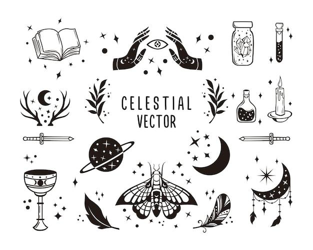 Collections magiques et célestes