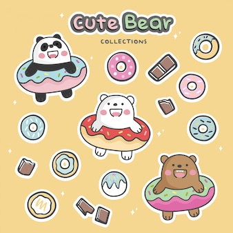 Collections d'ours mignons