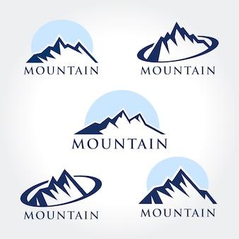 Collections de symboles de montagne créatifs