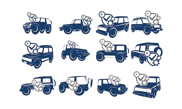 Collections de voitures de course d'aventure