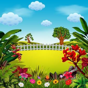 La colline et la bonne clôture