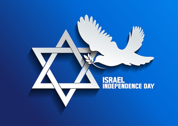 Colombe israélienne de la paix