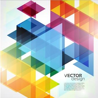Coloré abstrait