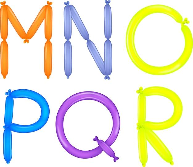 Coloré de l'alphabet