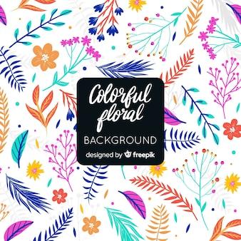 Coloré floral abstrait