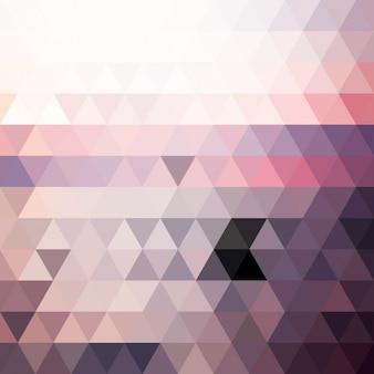 Coloré formes polygonales fond