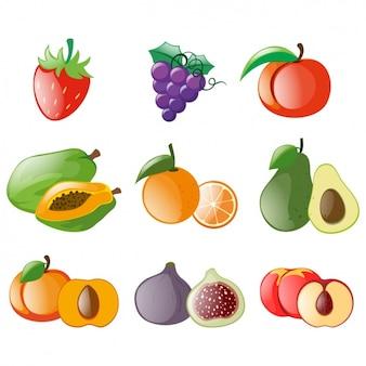 Coloré fruits collection