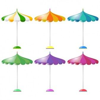 Coloré parasols collection