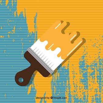 Coloré vecteur de rouleau à peinture