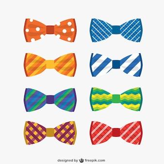 Colorful collection de cravates