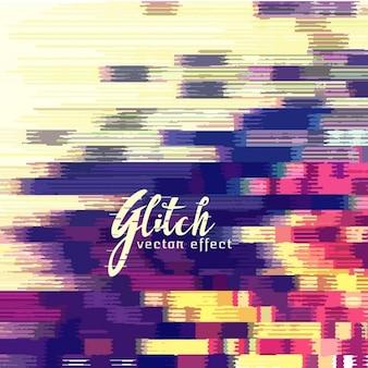 Colorful fond abstrait, effet glitch