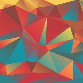 Colorful fond abstrait