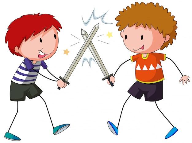 Combat à l'épée
