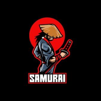 Combattant d'armure de guerriers samouraïs au japon