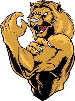 Combattant du lion